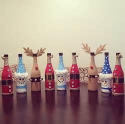 wine bottle christmas craft newhairstylesformen2014 com