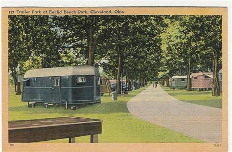 vintage travel trailer postcards pm  trailer park