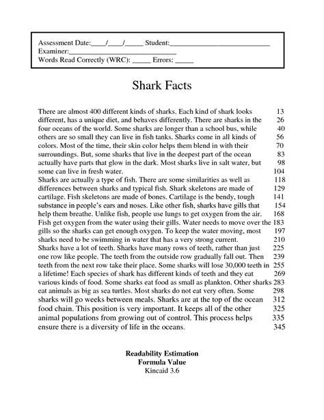17 best images of for 4th grade reading worksheets 4th