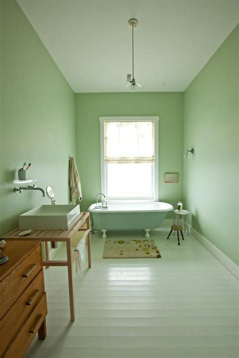Paint Color Portfolio Mint Green Bathrooms Apartment
