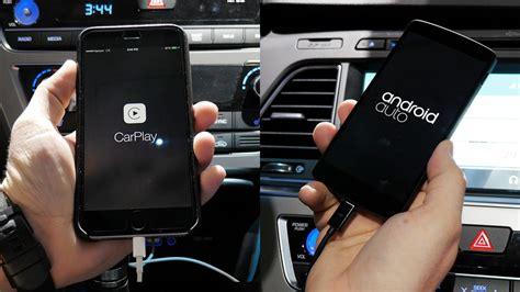 android auto contra apple carplay el duelo de 2015