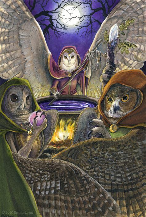 fantasy art owl women  vaethiniel  windfalcon