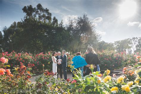 balboa park wedding in the garden san diego wedding