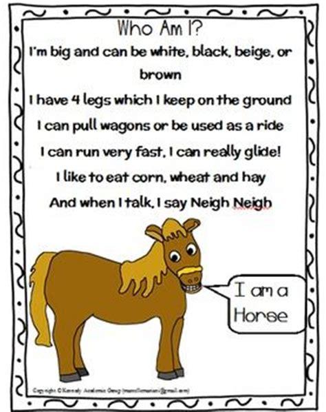 farm animals riddles poems freebie great for language 604 | a4f4552b31f8850603405ca98d765009
