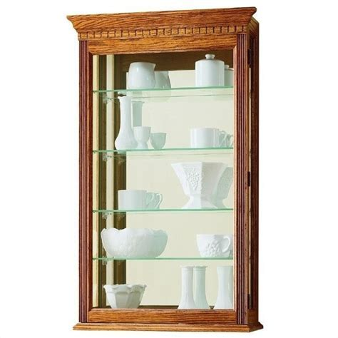 Howard Miller Montreal Wall Display Curio Cabinet   685106