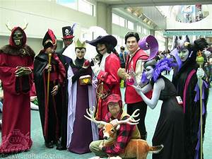 Disney Villain cosplay group from ComiCon 2012. It even ...