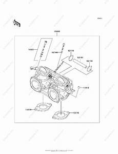 Kawasaki Jet Ski 1998 Oem Parts Diagram For Carburetor