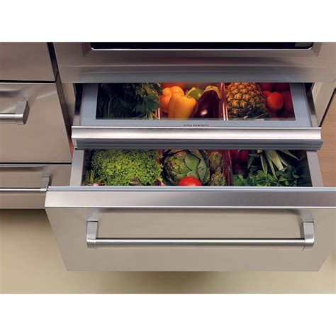 "Sub Zero 648PRO 48"" Built In Side by Side Refrigerator"