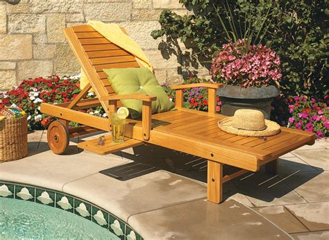 solid oak chaise lounge woodworking project woodsmith
