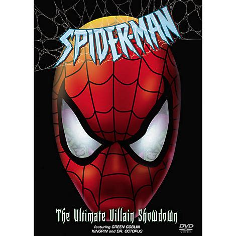 spider the ultimate villain showdown dvd