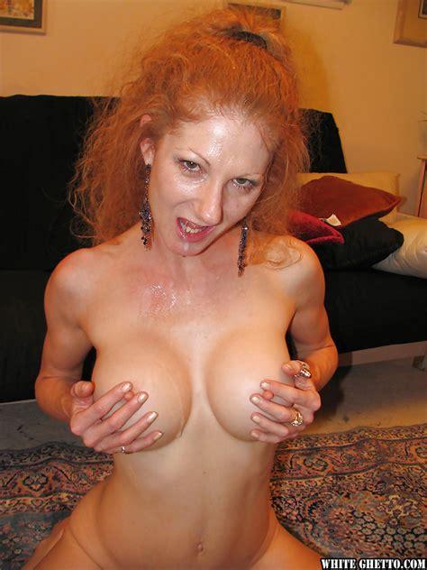 Ugly Redhead Slut With Big Fake Boobies Annie Body Get
