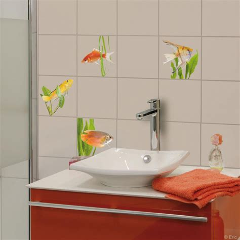 beautiful stickers salle de bain carrelage photos awesome interior home satellite delight us