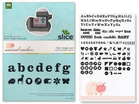 Making Memories  Slice Cartridge Design Card Animal