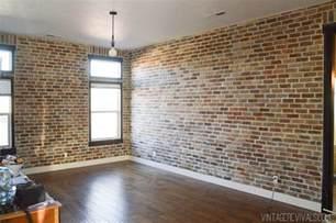 interior wall paneling home depot installing brick veneer inside your home vintage revivals