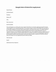 How to write a letter of intent for a job application  SampleBusinessResume