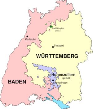 Its world famous black forest and the celebrated, romantic city of heidelberg are top tourist destinations within germany and central europe, but there is much more to see. Baden-Württemberg Maps Genealogy - FamilySearch Wiki