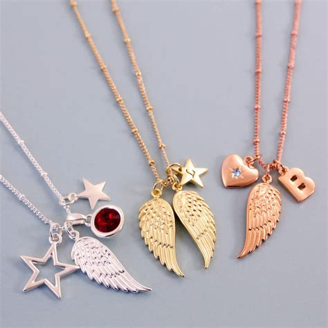 design your own necklace design your own wing necklace by j s jewellery
