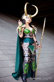 Lady Loki Cosplay Armor