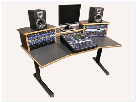 music studio desk workstation recording studio workstation desk plans desk home