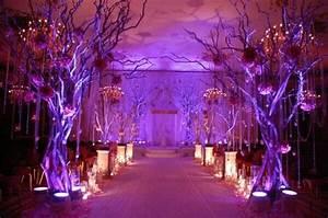 Enchanted forest decor | courtyard masquerade | Pinterest ...