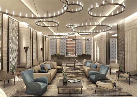 Top Interior Design Project Of A Luxury Residence Tower In