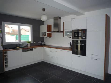 cuisine en et blanc cuisine noir quel couleur collection et meuble de cuisine