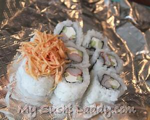 How to Make Volcano Sushi Roll with Baked Seafood Dynamite ...