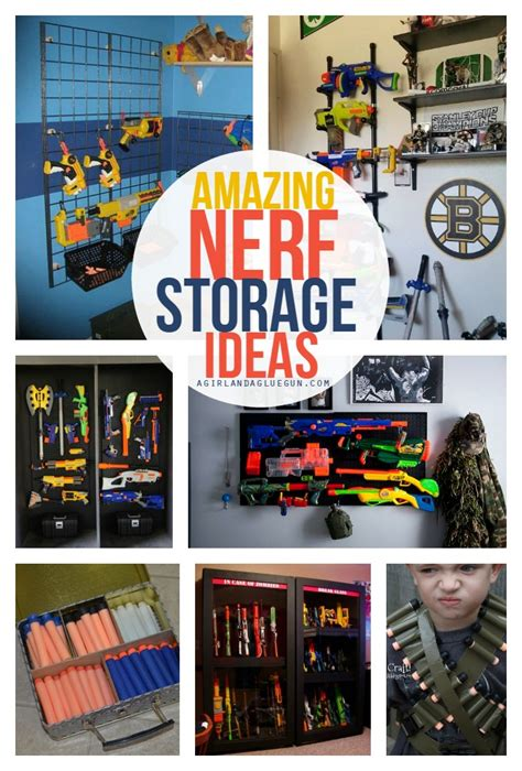 Despite my best efforts to keep them contained in various outdoor storage benches and. Nerf Gun Organizer Ideas - Easy Craft Ideas