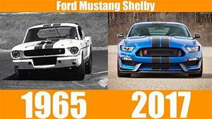 FORD MUSTANG SHELBY EVOLUTION FROM 1965-2017 - YouTube