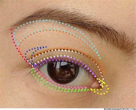 Eyeshadow Tutorial For Asian Eyes Part Where Apply