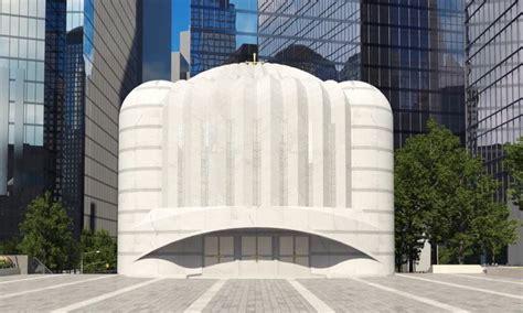 St Nicholas Center Revealed Renderings For Santiago Calatrava 39 S Ground Zero