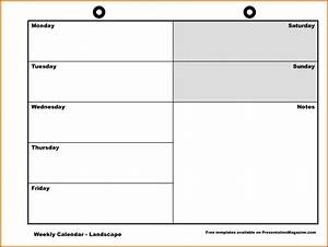 11 monday through friday printable calendar lease template for Saturday to friday calendar template