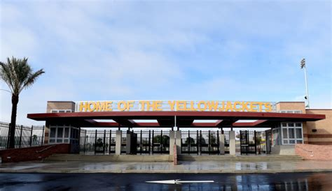 check  colton high schools newly renovated football