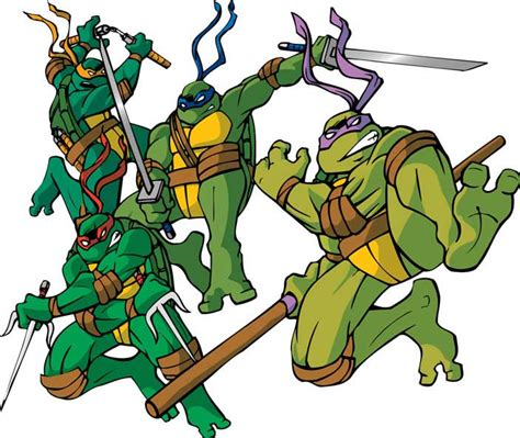 what color are the turtles mutant turtles names and colors