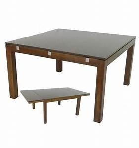 Table Carrée Rallonge : rallonge guide d 39 achat ~ Teatrodelosmanantiales.com Idées de Décoration