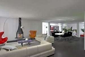 chambre idee salon decoration pour collection et salon With salon et salle a manger moderne