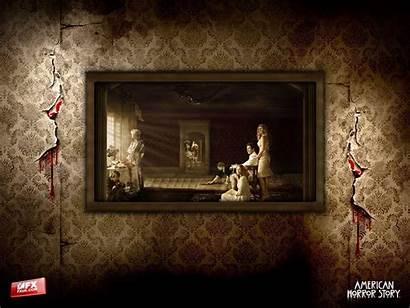 Horror Story American Wallpapers Coven Asylum Tv