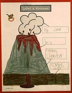 Volcano Kindergarten Diagram   Model 5054d     U75de U5ba2 U90a6
