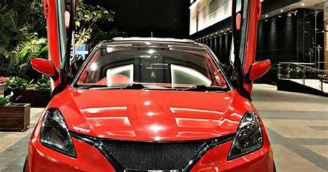 Baleno Car Modification by Maruti Baleno Stylish Modification M B Design Mototrendz