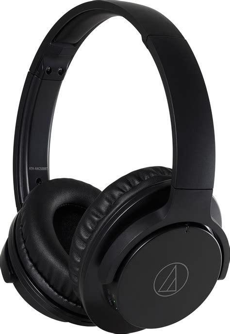 Audio-Technica ATH-ANC500BT Noise-Cancelling Headphones, Black