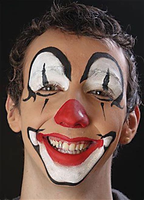 clown schminken von profis fuer sie schminken anleitung