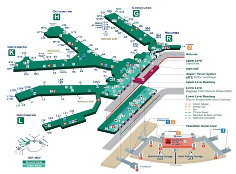 Map Of O Hare Terminal 3 | Boston Massachusetts On A Map