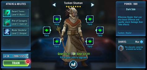 character strategy tusken shaman star wars galaxy