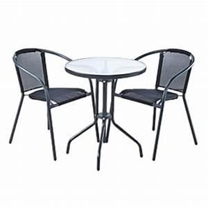 Table Et Chaise Bistrot : table et chaise bistrot ~ Teatrodelosmanantiales.com Idées de Décoration