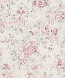 Tapete Blumen Modern : vliestapete rasch blumen vintage cremewei rosa 516029 ~ Eleganceandgraceweddings.com Haus und Dekorationen