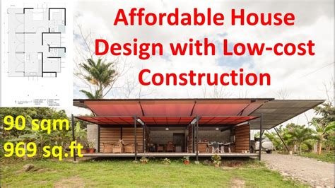 affordable house design   cost construction youtube