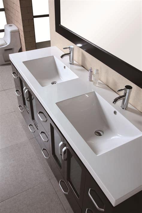 design element stanton double   modern bathroom