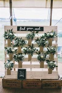 Plan De Table Palette : tableau matrimonio fai da te con pallet 20 idee da sposare ispiratevi ~ Dode.kayakingforconservation.com Idées de Décoration