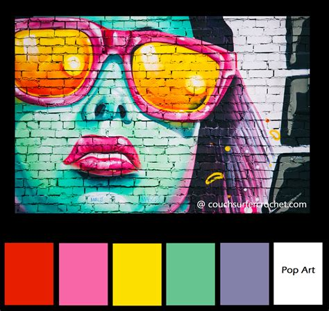 color combo inspiration pop art graffiti bold colors