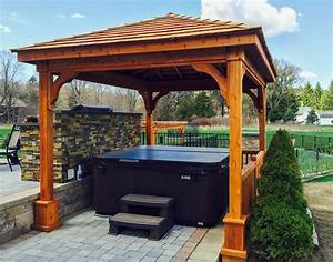 Gazebo design astonishing 10 x 16 gazebo gazebo kits for Whirlpool garten mit balkon pergola